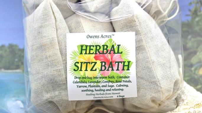Herbal Sitz Bath - For Postpartum Healing