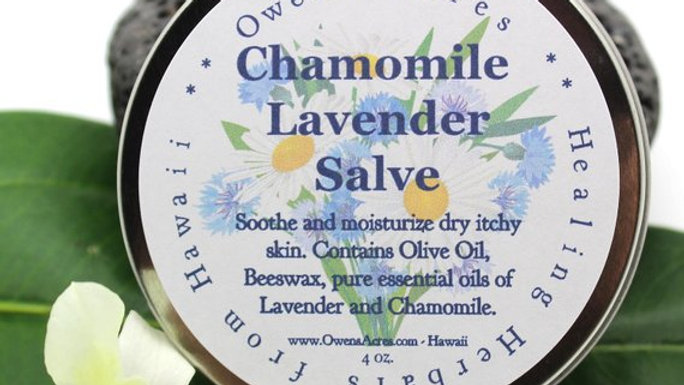 Chamomile Lavender Salve for Dry Sensitive Skin