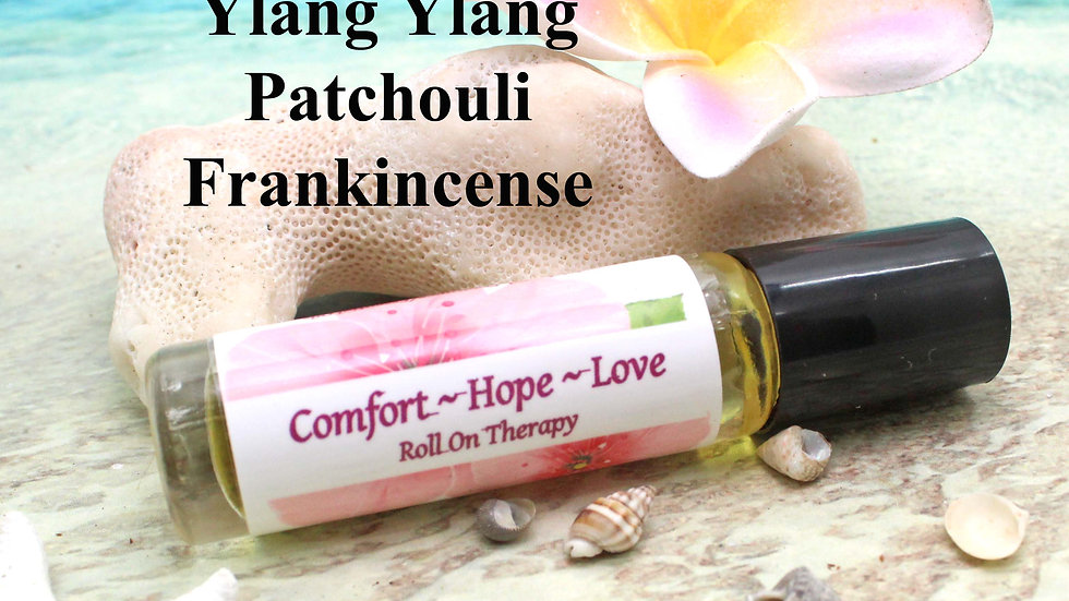 COMFORT HOPE LOVE Roll On Aromatherapy / Aromatherapy Gift / Essential Oils