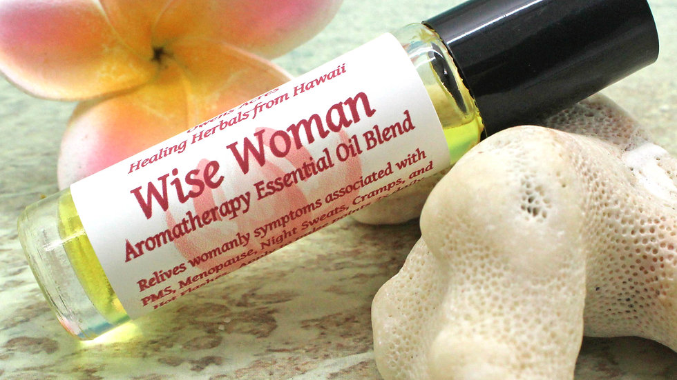 Wise Woman Essential Oil Roll On / PMS / Monthly Cramps / Menopause Symptoms