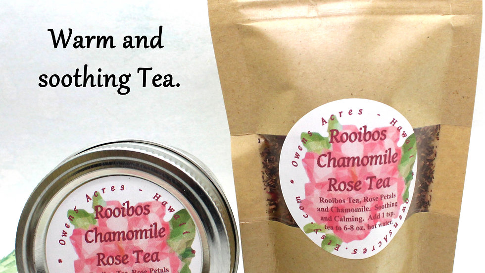 Chamomile Roobios Tea