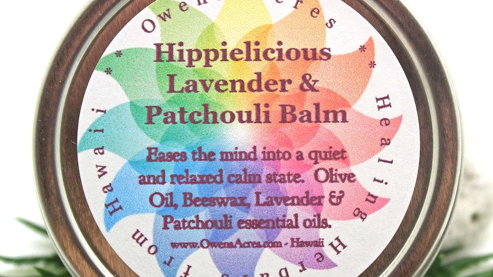 Calming Lavender Patchouli Balm - Temple Balm