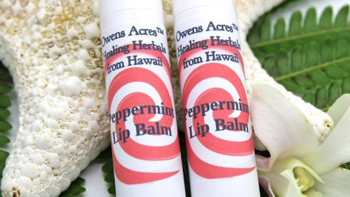 Peppermint Lip Balms - Soothing and Moisturizing