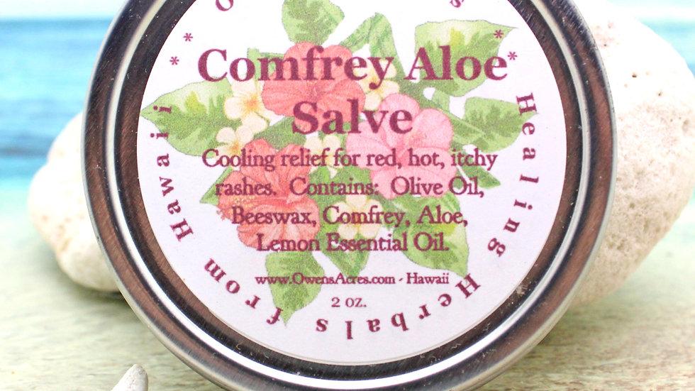 Comfrey Aloe Soothing Skin Salve