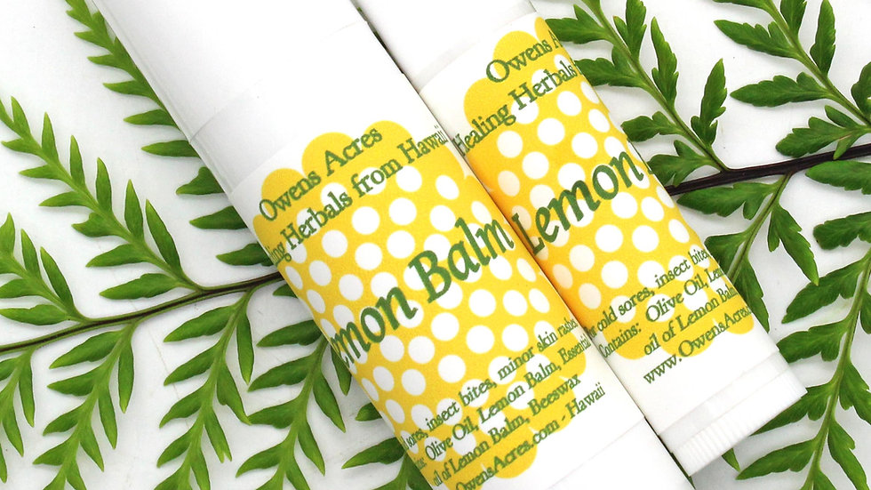 Lemon Balm For Lips - Great Cold Sore Remedy