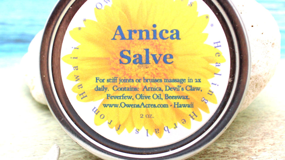 Arnica Salve for Stiff Joints and Arthritis Pain