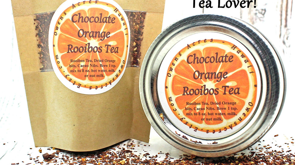Chocolate Orange Chai Tea Spice Blend