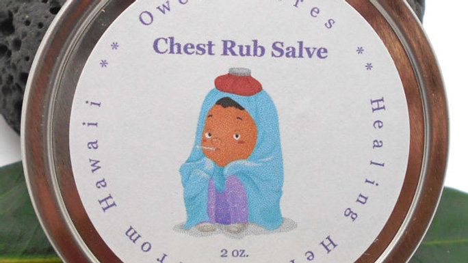 All Natural Menthol Chest Rub - Helps relieve sinus and chest colds