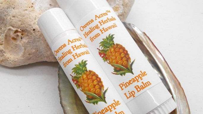 Pineapple Lip Balms - Soothing and Moisturizing