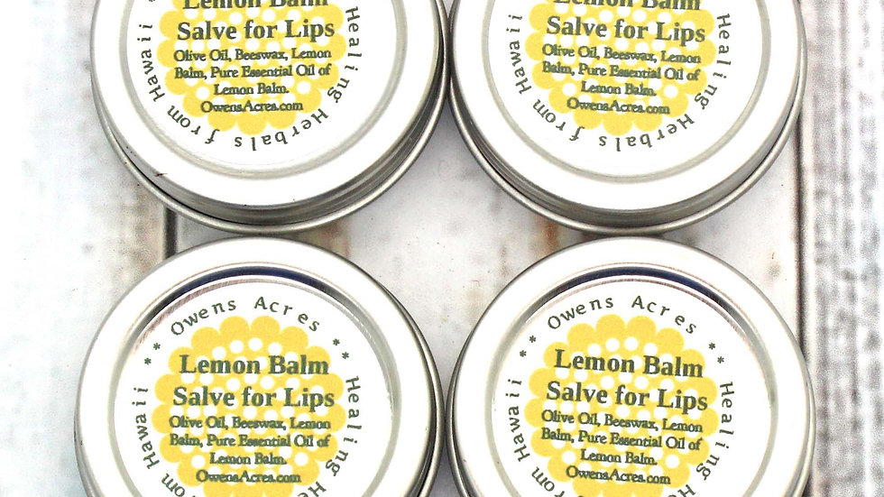 Lemon Balm Tins - Buy 3 Get 1 Free Deal