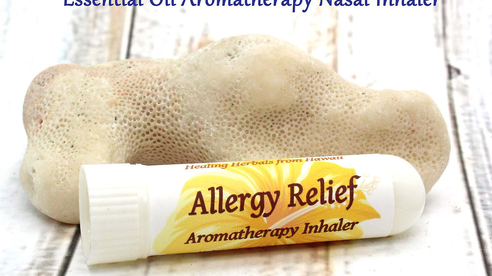 Aromatherapy Inhaler - Allergy Relief / Seasonal Pollen / Dust