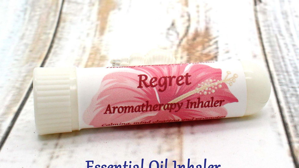 Essential Oil Inhaler - Regret /Self Blame / Self Esteem