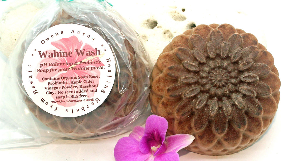 Wahine Wash Ladies Soap for Wahine Parts