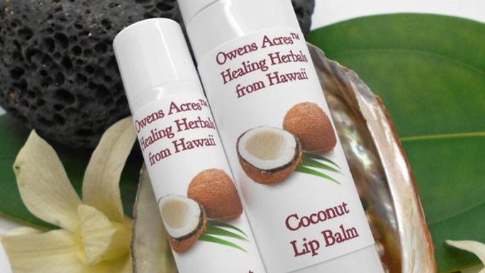 Coconut Lip Balms - Soothing and Moisturizing