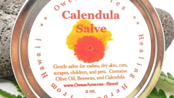 Calendula Salve - For Newborn Dry Skin