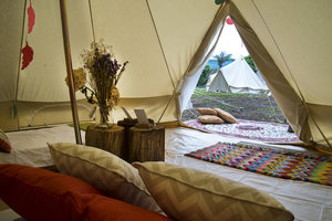 retreat tent