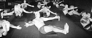 athletic team yoga
