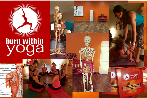 yoga teacher trainings at Burn Within Yoga