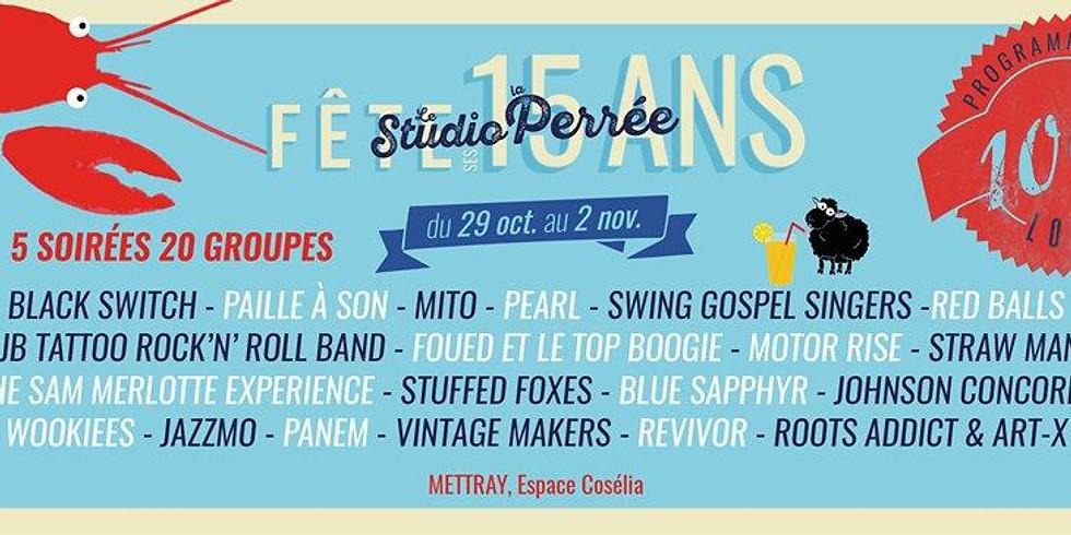 Panem @ Le Studio La Perrée Fête ses 15 ans !