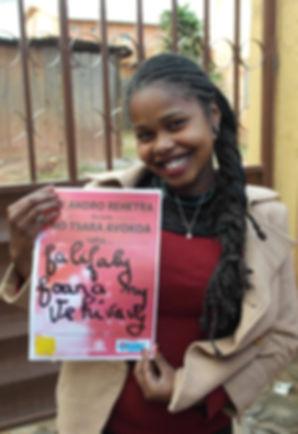 Promoting girls' menstrual health education.