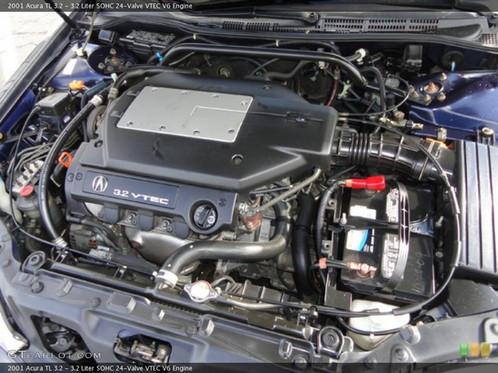 Used JA V Liter TL Engine - 2006 acura tl engine