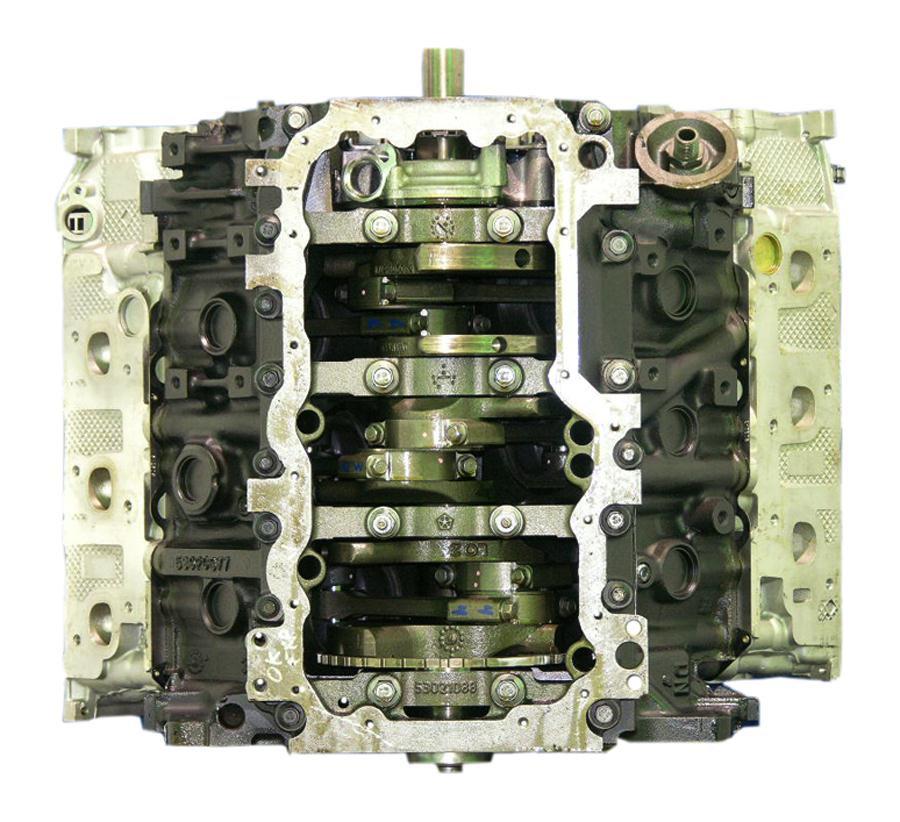 2007-2008 Jeep Grand Cherokee 3.7 V6 Engine