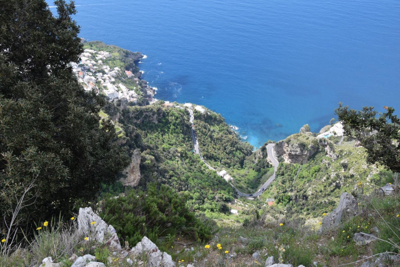 Walk of the Gods to Positano, Italy on the Amalfi Coast