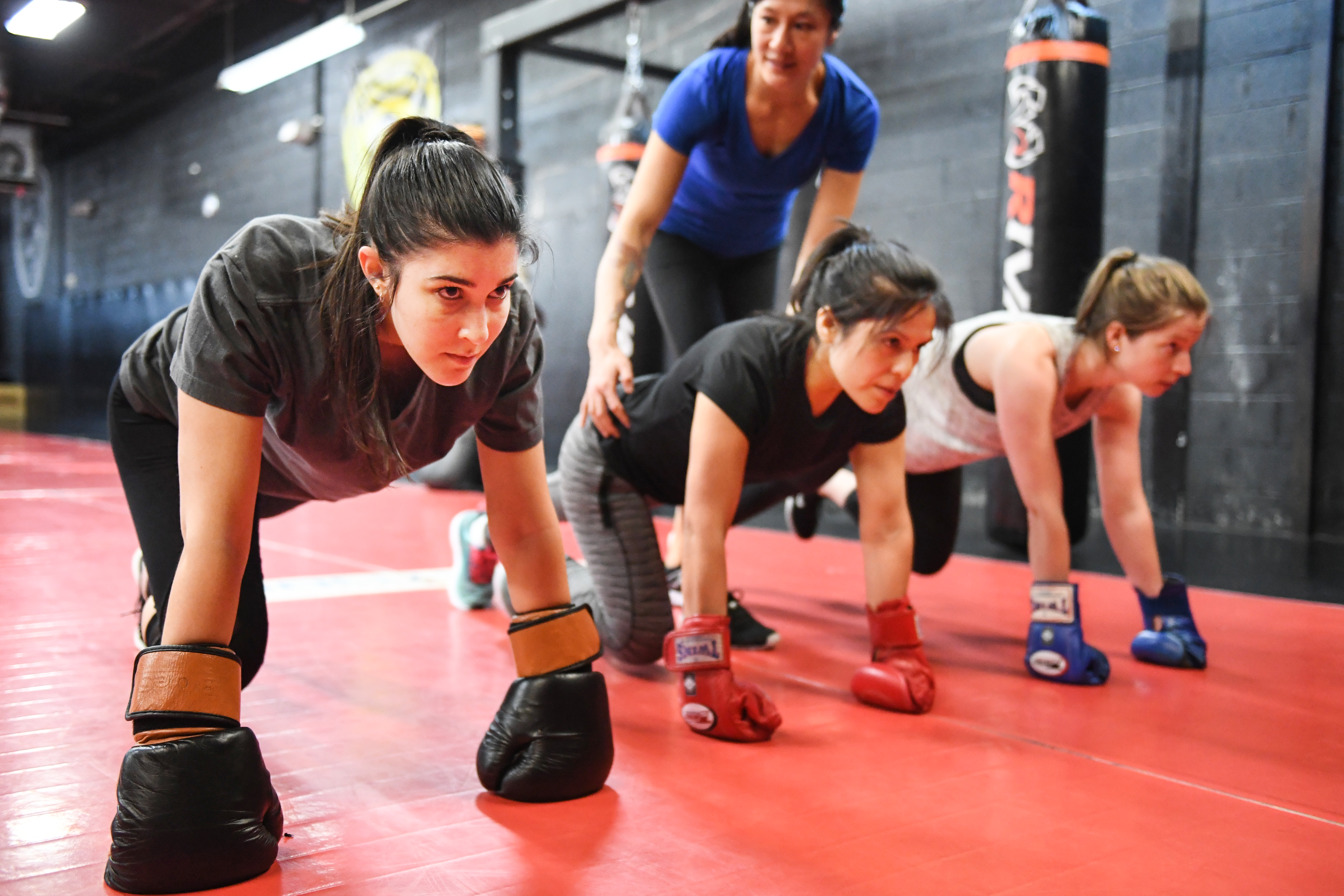 Small Group Fitness Boxing Training