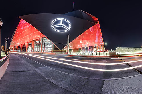 Mercedes Benz Stadium Panorama