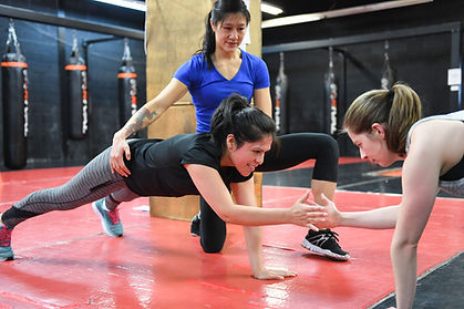 Small Group Fitness Boxing Personal Training in Toronto North York