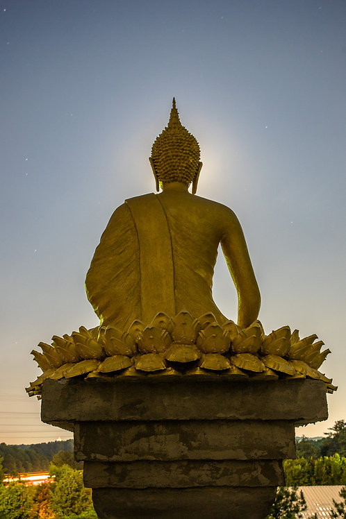 The Moon and the Buddha