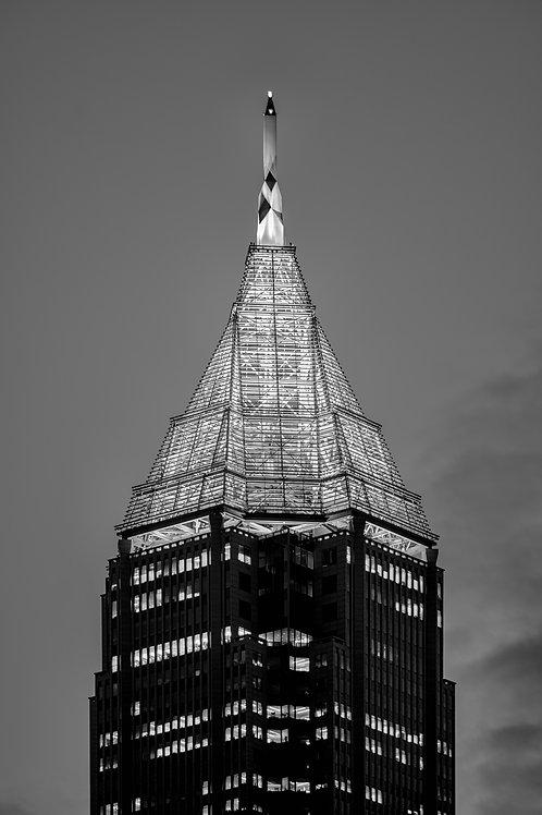 Bank of America Pinnacle (b/w)