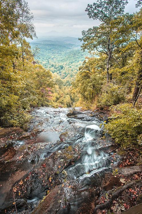 Amicolola Falls, Autumn
