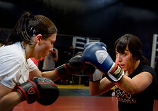 Women's Boxing Fitness Training Personal Trainer Coach Toronto North York
