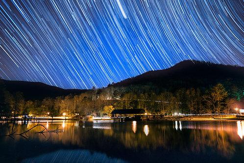 Stars over Lake Vogel