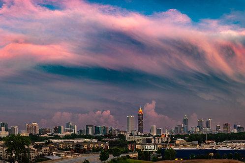 Pink Skyline