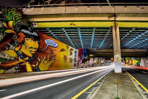 North Ave Graffiti