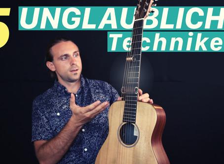 5 Unglaubliche Gitarren Techniken
