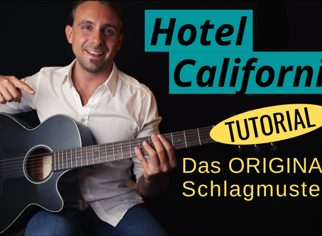 Hotel California - Grooviges Gitarren Tutorial + PDF