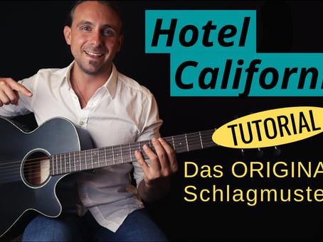 Hotel California - Grooviges Gitarren Tutorial + PDF