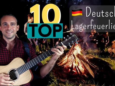 10 Deutsche Lagerfeuer Songs + Tutorial mit PDFs