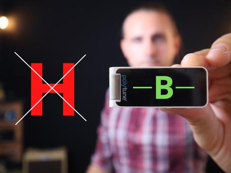 B oder H? Deswegen gibts für mich kein H!
