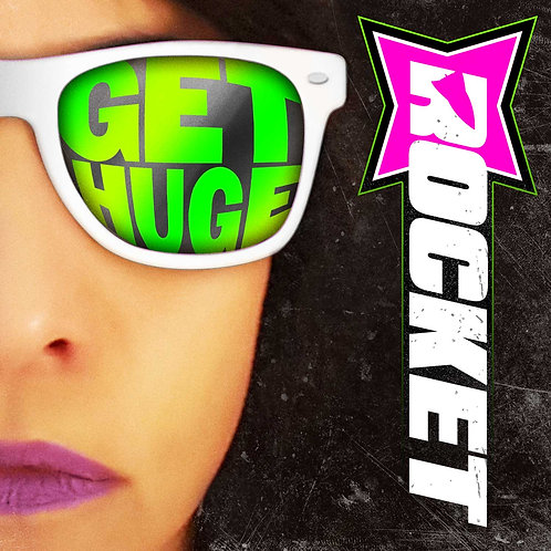 "ROCKET ""GET HUGE"" EP Autographed CD"