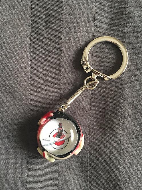 ROCKET 3 Star Keychain