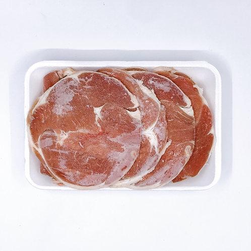 紐西蘭羊肉片 ($/半磅)00105