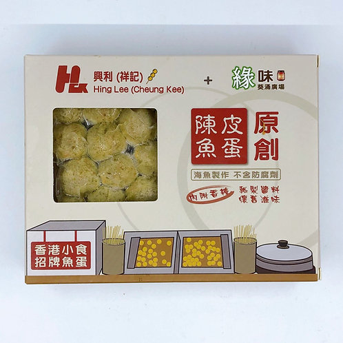 陳皮魚蛋 連醬 ($/盒)00787