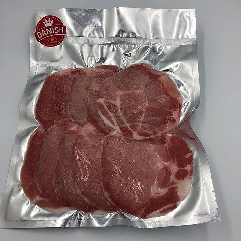 丹麥無激素豚肉火鍋片 ($/半磅)00489