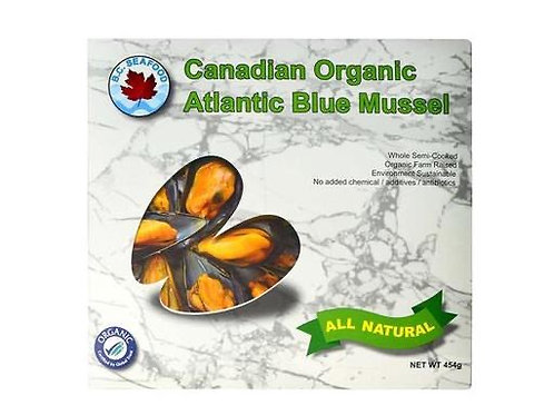 加拿大有機藍青口 ($/盒)00377