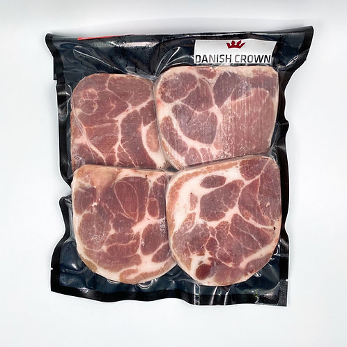 丹麥無激素豬梅頭扒 ($/包)00449