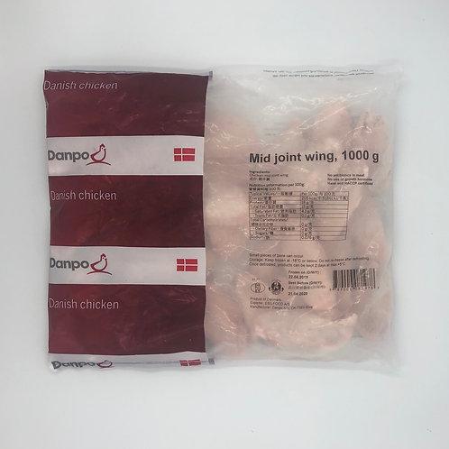Danpo無激素雞翼  1kg ($/包)00527